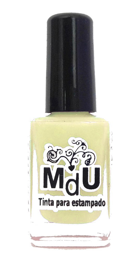 12. CREAM stamping polish - 14 ml