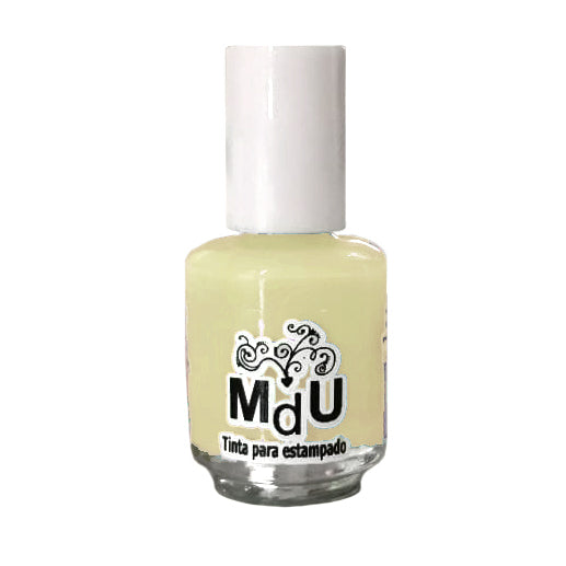 12. CREAM stamping polish - 5ML mini