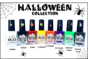 13. HALLOWEEN stamping polish collection - 14 ml
