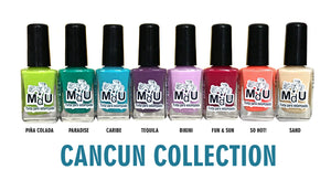 14. CANCUN stamping polish collection - 14 ml