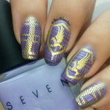 17. GOLD stamping polish - 5ML mini