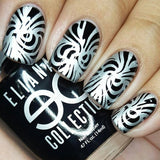 18. SILVER stamping polish - 5ML mini