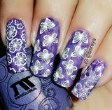 1. WHITE stamping polish - 14 ml