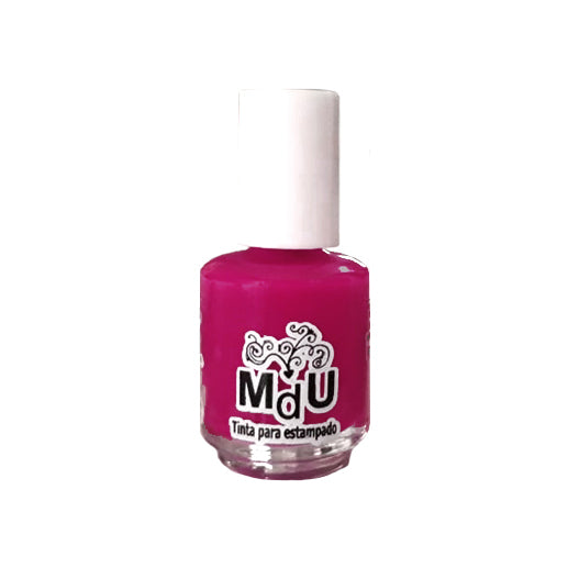 20. FUCSHIA stamping polish - 5ML mini