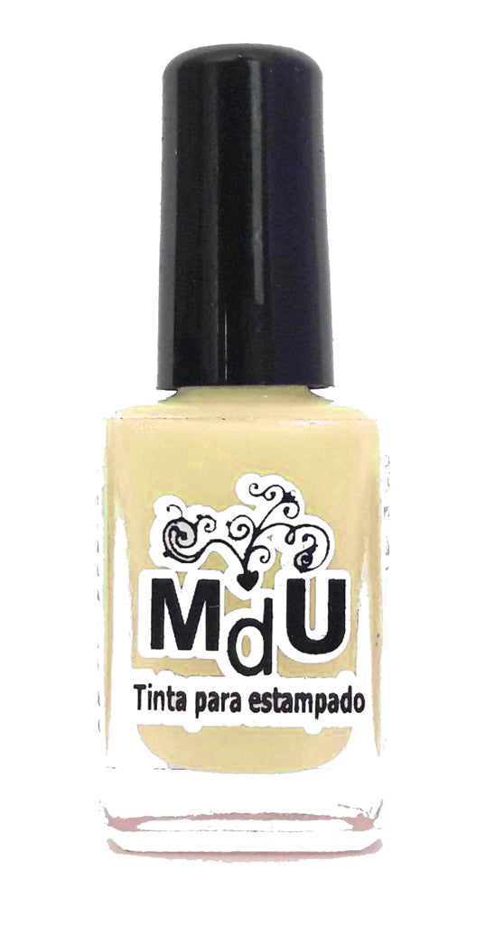 26. PASTEL YELLOW stamping polish - 14 ml