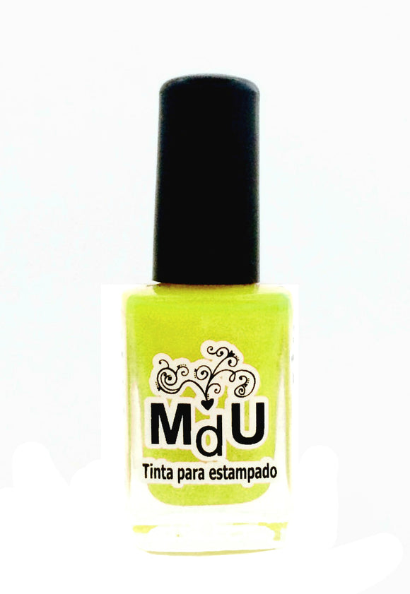 27. NEON YELLOW stamping polish - 14 ml