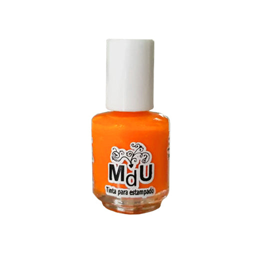 28. NEON ORANGE stamping polish - 5ML mini