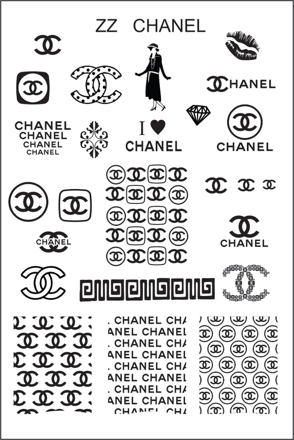 ZZ CHANEL Stamping plate