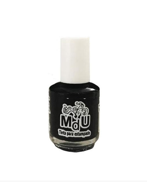 2. BLACK stamping polish - 5ML mini