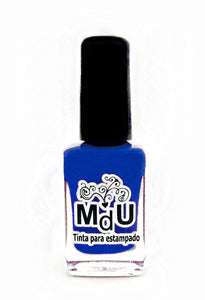 30. NEON BLUE stamping polish - 14 ml
