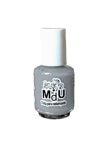 33. LIGHT GRAY stamping polish - 5ML mini