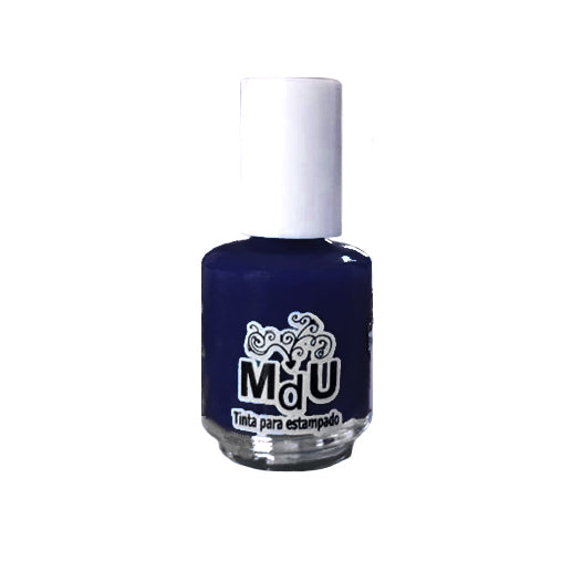 3. BLUE NAVY stamping polish - 5ML mini