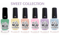 4. SWEET stamping polish collection - 14 ml