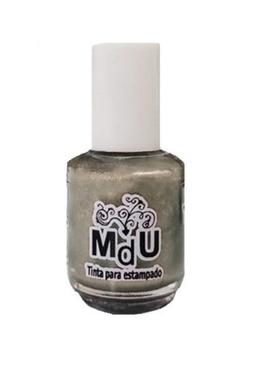 40. LIGHT GOLD stamping polish - 5ML mini