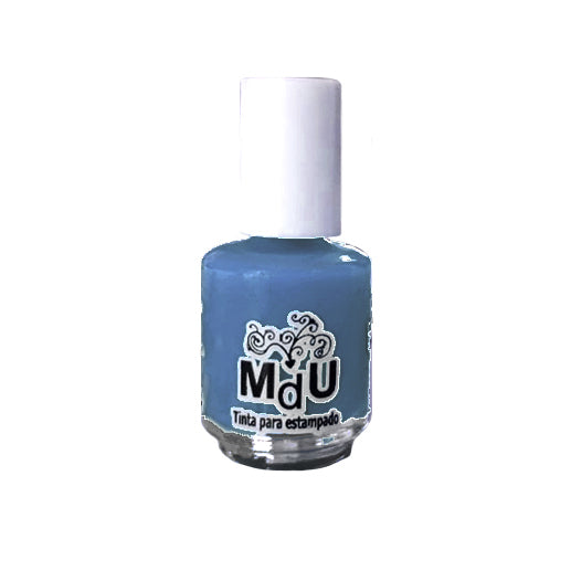 42. HOLLAND BLUE stamping polish - 5ML mini