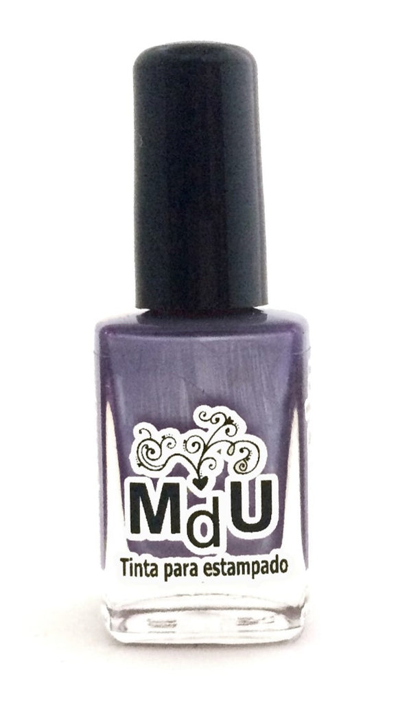 45. METALLIC PURPLE stamping polish - 14 ml