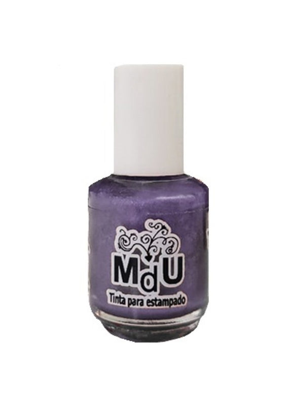45. METTALIC PURPLE stamping polish - 5ML mini