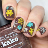 46. MUSTARD stamping polish - 5ML mini
