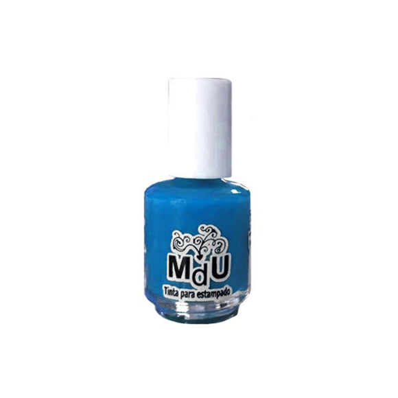 4.BLUE stamping polish - 5ML mini