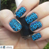 4. BLUE stamping polish - 14 ml