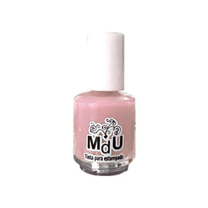 50. PALE ROSE stamping polish - 5ML mini