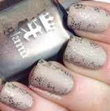 57. TAUPE stamping polish - 5ML mini