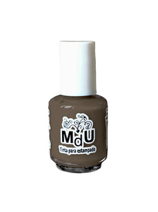 58. CARAMEL stamping polish - 5ML mini