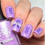 60. FANTASY stamping polish - 5ML mini