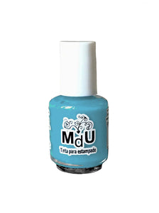 68. SKY BLUE stamping polish - 5ML mini