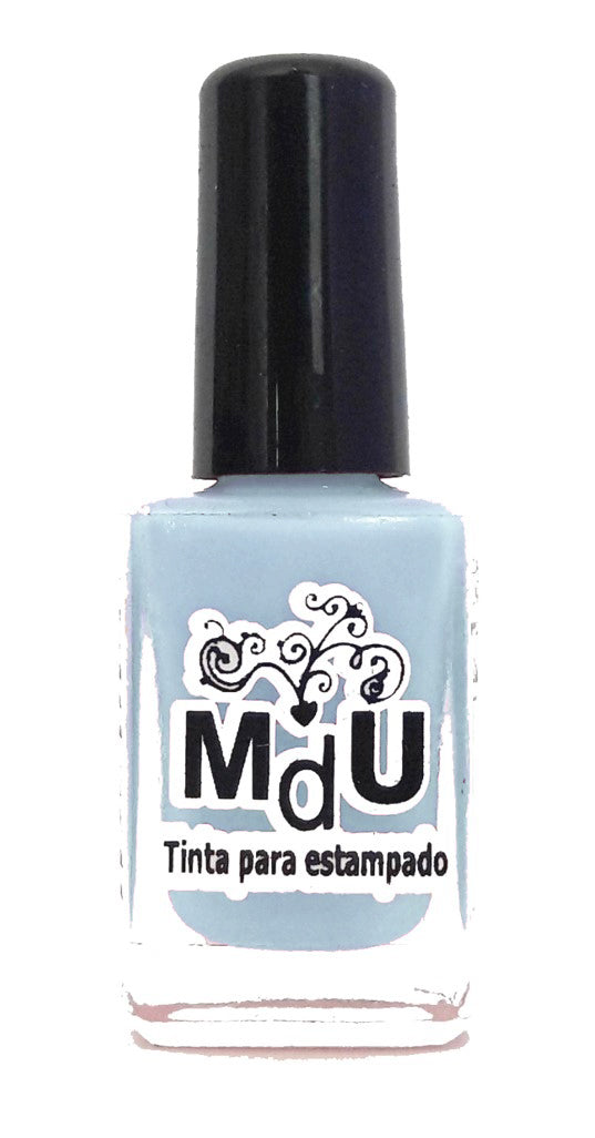 6. PASTEL BLUE stamping polish - 14 ml