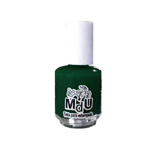 7. DARK GREEN stamping polish - 5ML mini