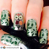 7. DARK GREEN stamping polish - 14 ml