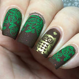 8. GREEN stamping polish - 14 ml