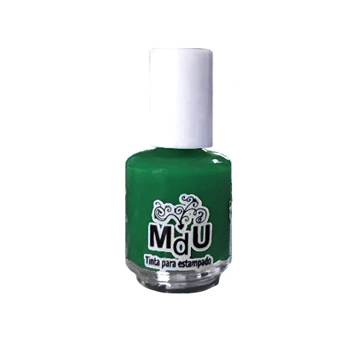 8. GREEN stamping polish - 5ML mini