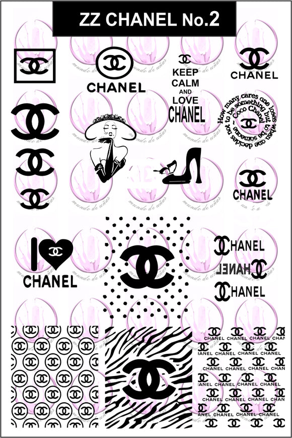 ZZ CHANEL No.2 Stamping plate