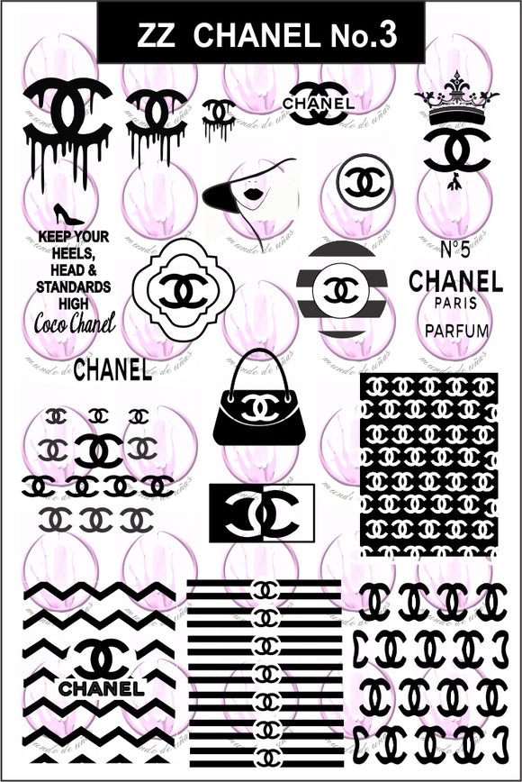 ZZ CHANEL No.3 Stamping plate