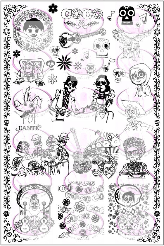 COCO Stamping plate