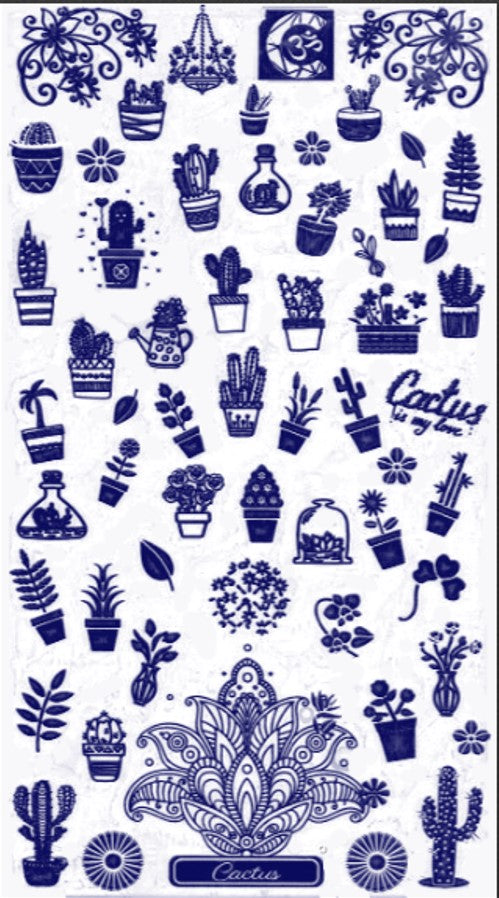 CACTUS Stamping plate