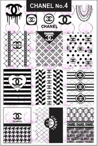 ZZ CHANEL No.4 Stamping plate