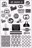 ZZ GUCCI 2 Stamping plate