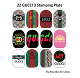 ZZ GUCCI 3 Stamping plate
