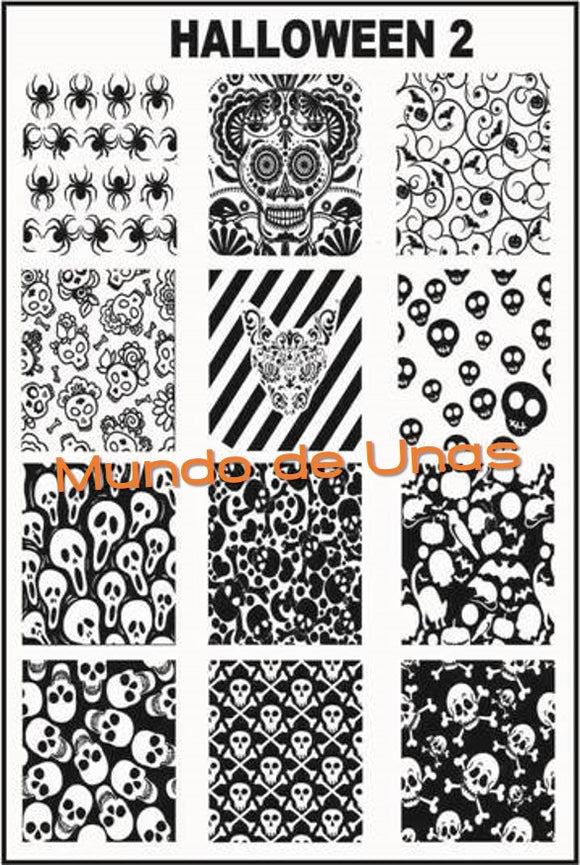 HALLOWEEN 2 stamping plate