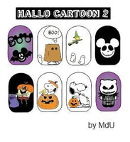 HALLO CARTOON 2 Stamping plate