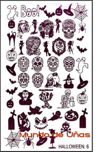 Halloween 6 stamping plate