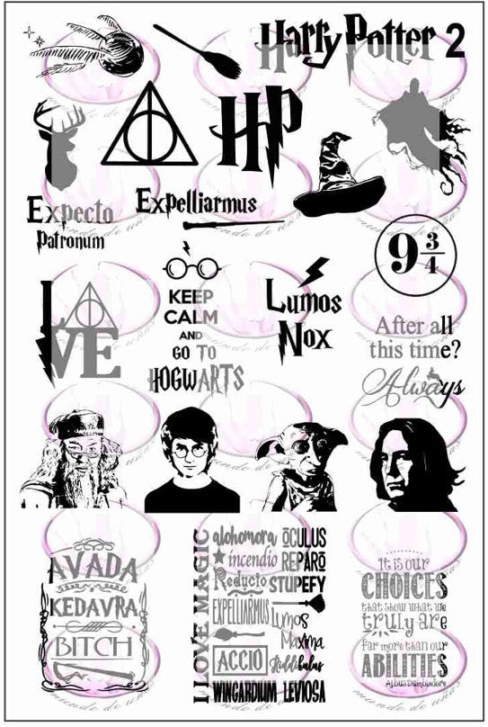 Harry Potter 2 Stamping plate