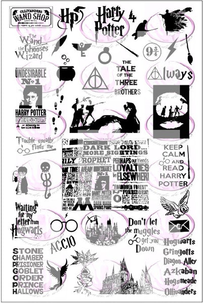 Harry Potter 4 Stamping plate
