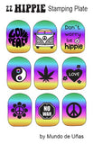 ZZ HIPPIE stamping plate