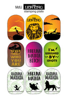 LION KING Stamping plate