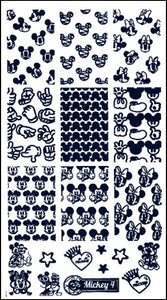 MICKEY 4 stamping plate