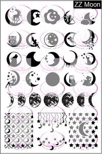 ZZ MOON stamping plate